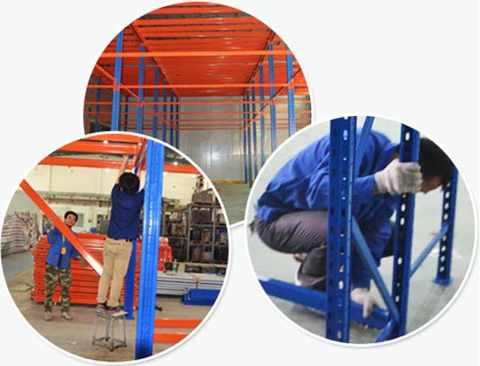 pallet rack mezzanine