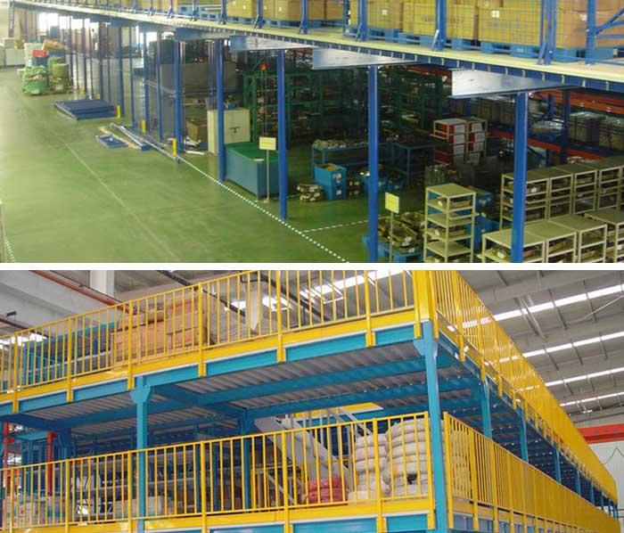 warehouse rack mezzanine racks