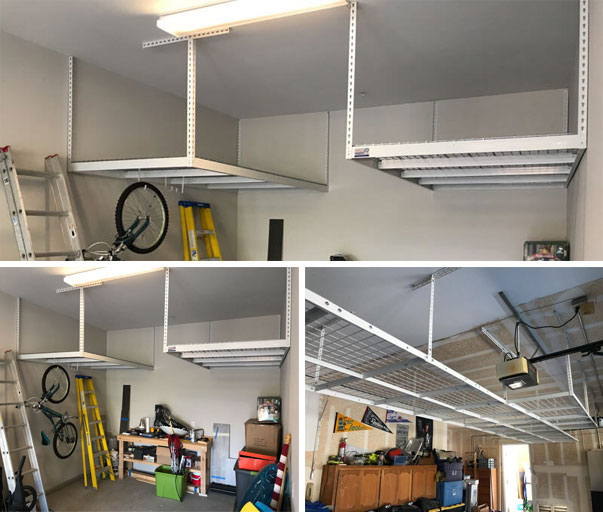overhead ceiling racks