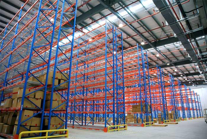pallet racking shelves