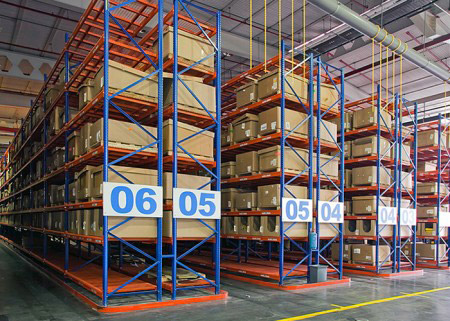 Warehouse vna racking system aceally racking for Warehouse racking layout software free