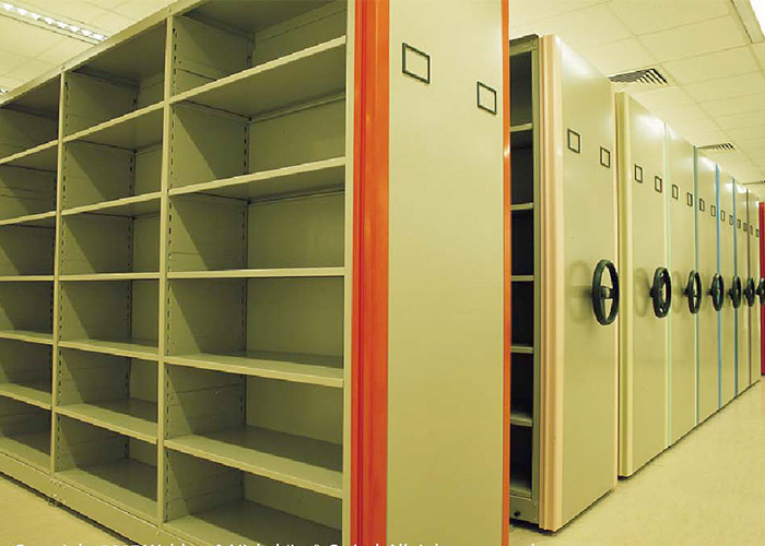 Customized Steel Mobile Shelving Systems for Warehouse Solution
