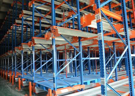 Steel Radio Shuttle Racking for Warehouse Storage