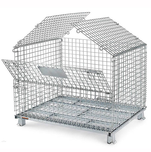 The Role of Wire Container Storage Cage in Manufacturing Enterprises