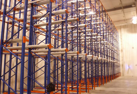 New design drive through racking for industrial storage