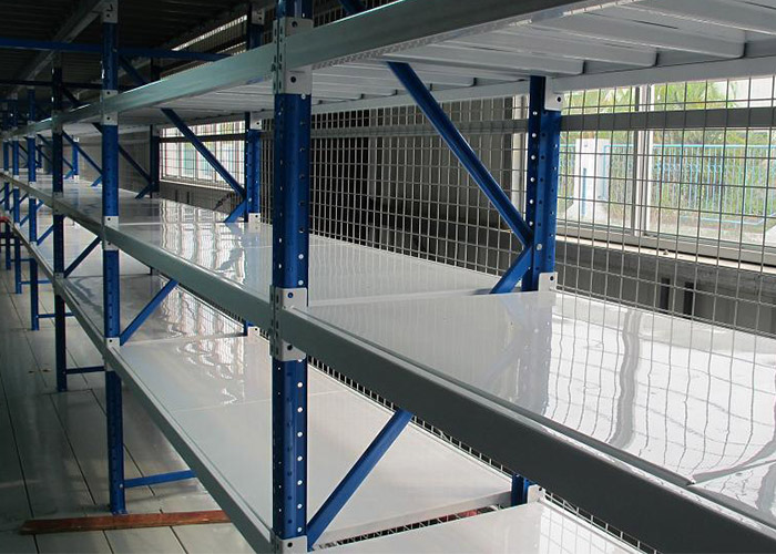 Warehouse Industrial Long Span Steel Metal Shelf