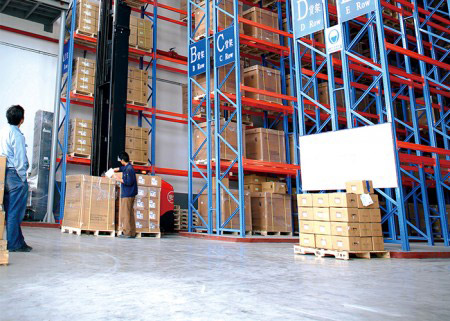 Warehouse VNA Racking System