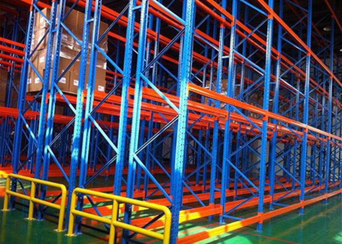 Logistic equipment heavy duty storage double deep racking system