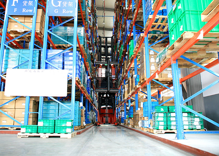 VNA pallet racking Aceally warehouse storage solution
