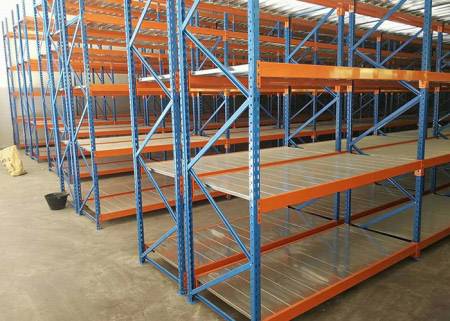 Industrial storage longspan shelving Stacking Racks