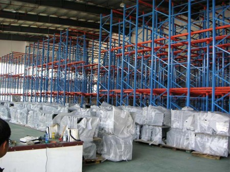 The characteristics of drive in pallet racking