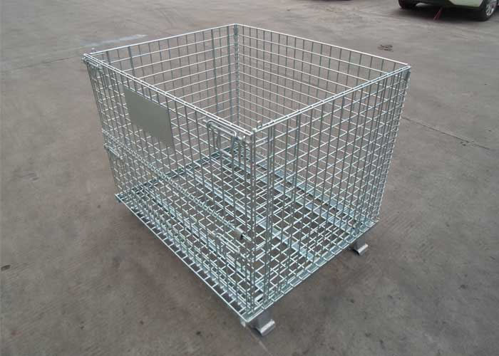Aceally Racking Galvanized Cage Wire Storage Cages Panels
