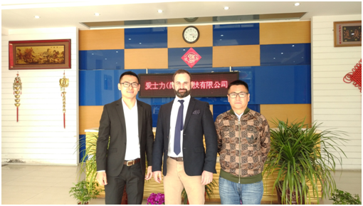 A Client from UK Paid A Visit to Aceally Factory in Kunshan on April