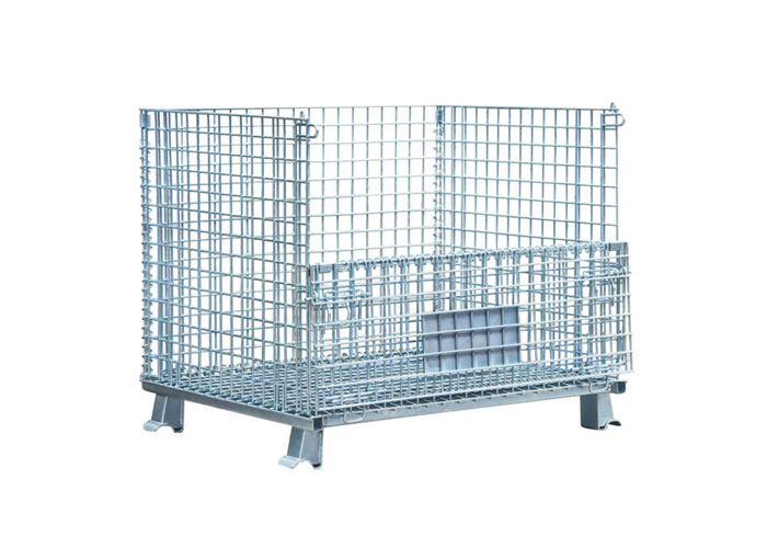 Collapsible Wire Mesh Container