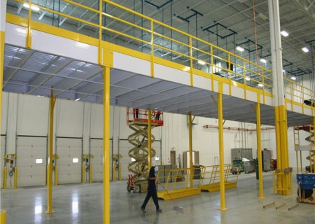 Warehouse Rack Steel platform