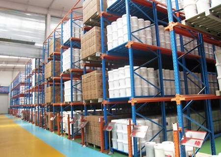 Warehouse Industrial Drive in Pallet Racking System
