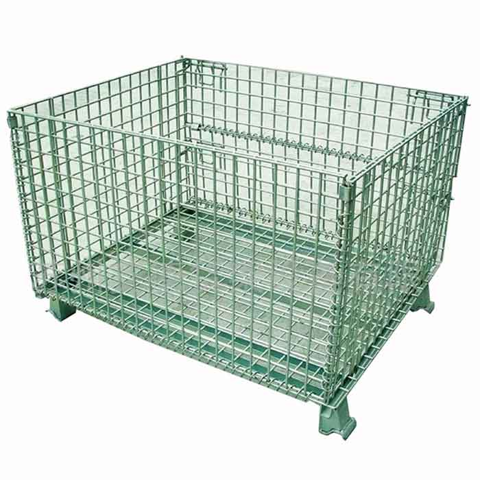 How to distinguish the quality of wire container storage cage