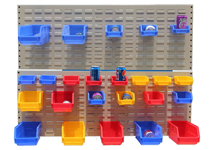 Aceally plastic parts hanging boxes bins