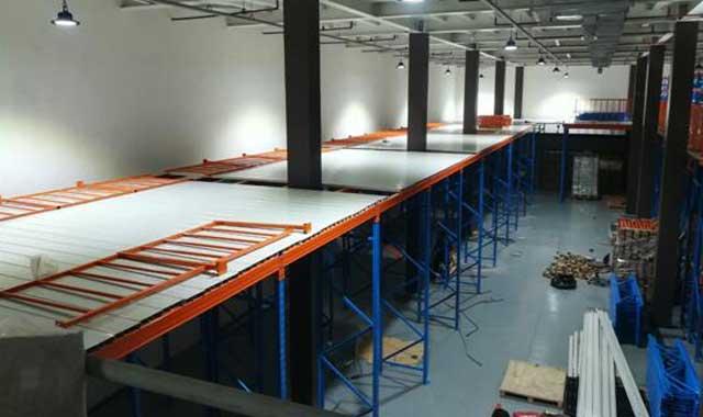 mezzanine racking and plaforms