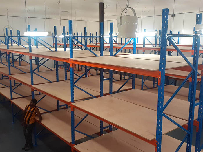 Project introduction of pallet racking system in Fiji