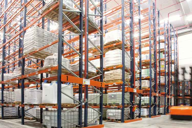 The general function and function of warehouse storage shelf
