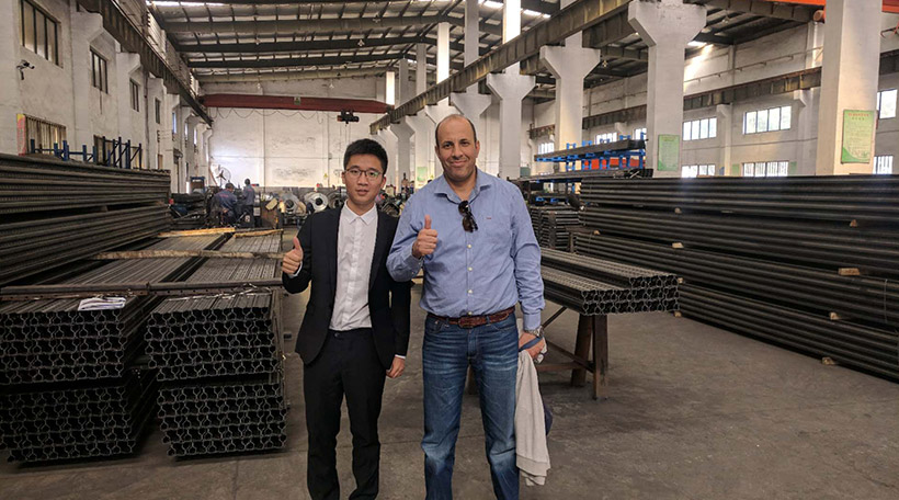 Algeria Client Visited Our Factories