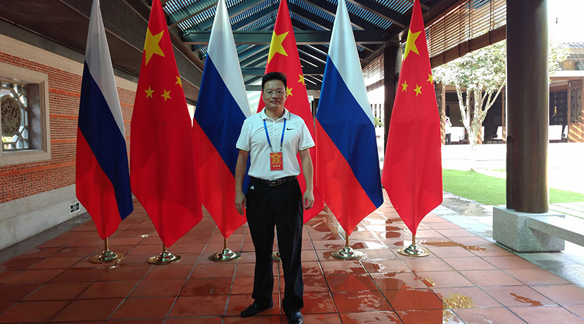 Aceally CEO was invited to BRICS as a representative of Warehousing Logistics Equipment Integrator