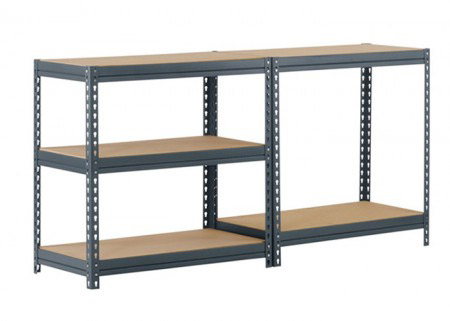 Medium duty rivet racking shelving