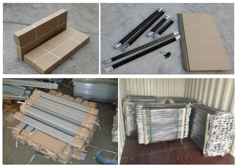 Boltless Rivet Shelving packing