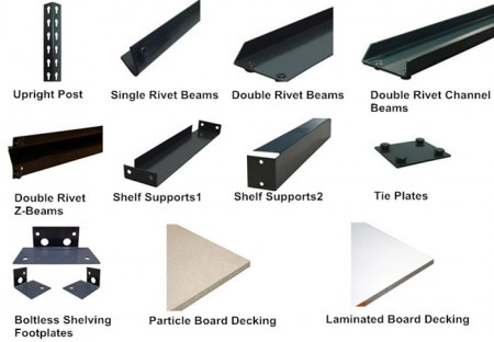 Boltless-shelving-Parts