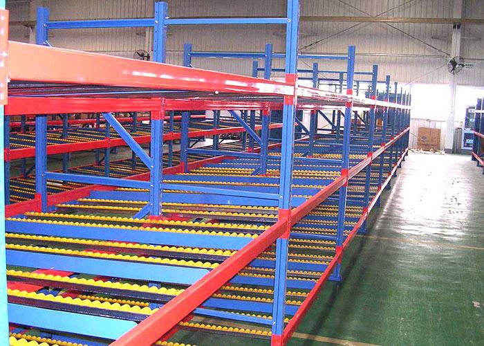 FIFO Storage Gravity Carton Flow Rack