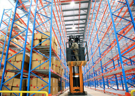 Warehouse heavy duty storage steel dexion pallet racking