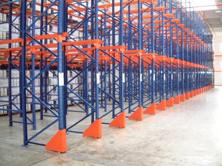 Design Data and Maintenance of Drive in Pallet Racking System