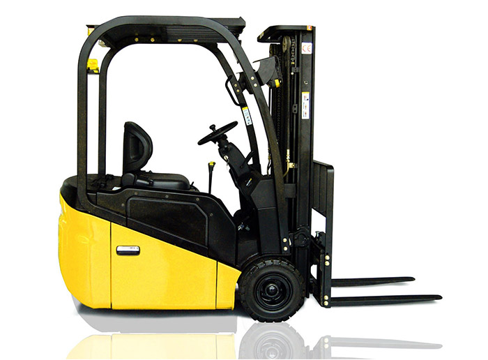 Electric forklift trucks for warehouse