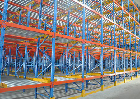 Pallet Flow Rack Storage Systems
