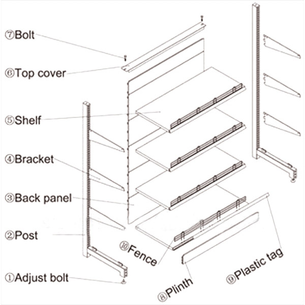 01-supermarket shelving