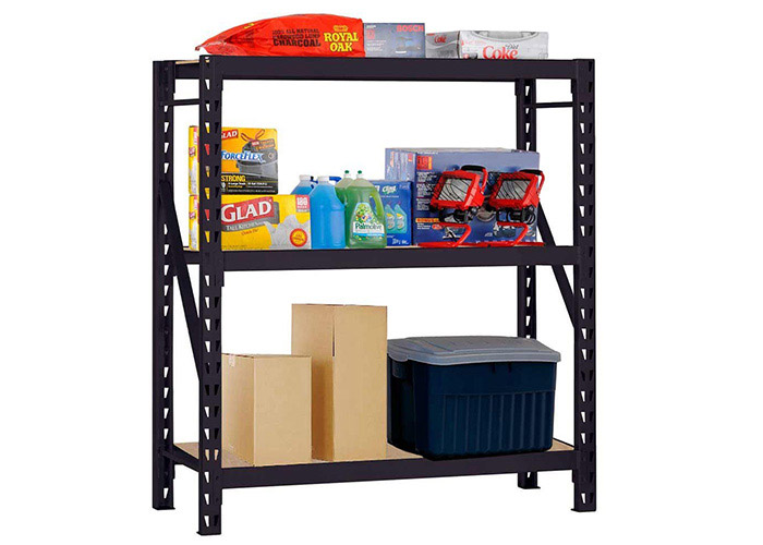 High definition wholesale Heavy Duty Steel Bulk Storage Rack with 3 Shelf for Fforland