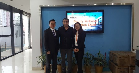 Isreal Client Alon Balal Visited our Head Office