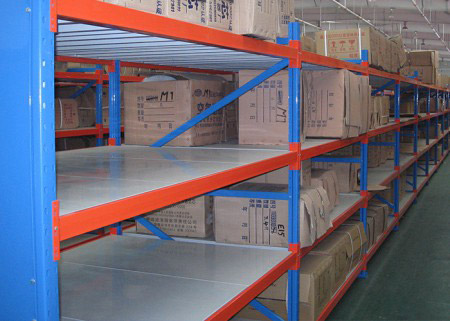 Heavy Duty Longspan Industrial Shelving 200-800 Kg