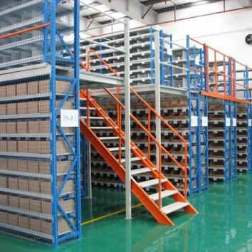 What are the advantages of mezzanine floor rack