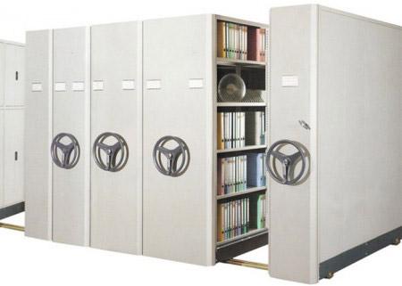 high density mobile shelving