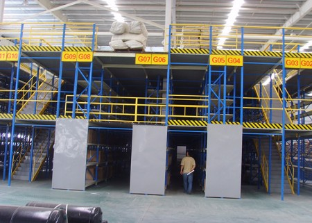 Free design Warehouse Mezzanine Floors Systems