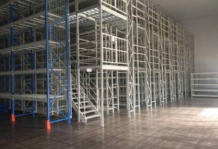 Steel Structure Mezzanine Floor for Industrial Warehouse Storage