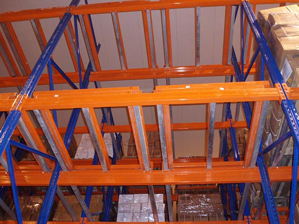 what is pack back pallet racking