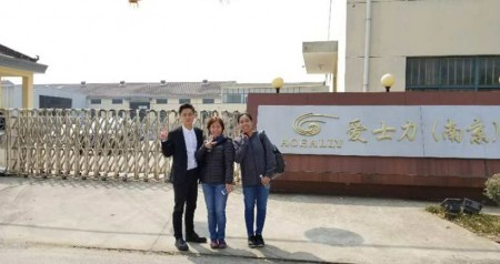 A Customer from Philippines paid a visit to our factory