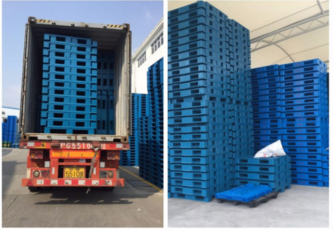 Plastic-pallet-packing