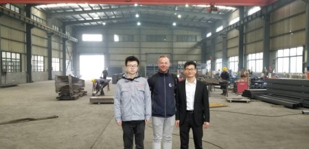 South Africa client Paid A Visit to Aceally Factory in Nanjing