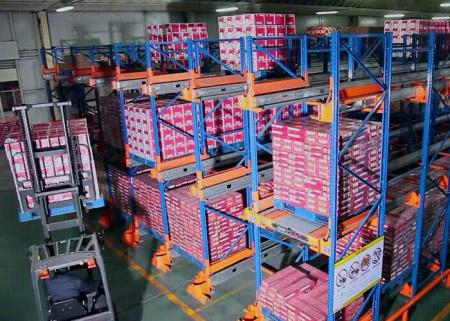 FIFO Warehouse Selective Adjustable Steel Radio Shuttle Shelving
