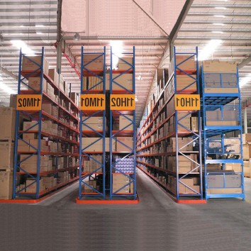 What changes will shelves bring to warehouse