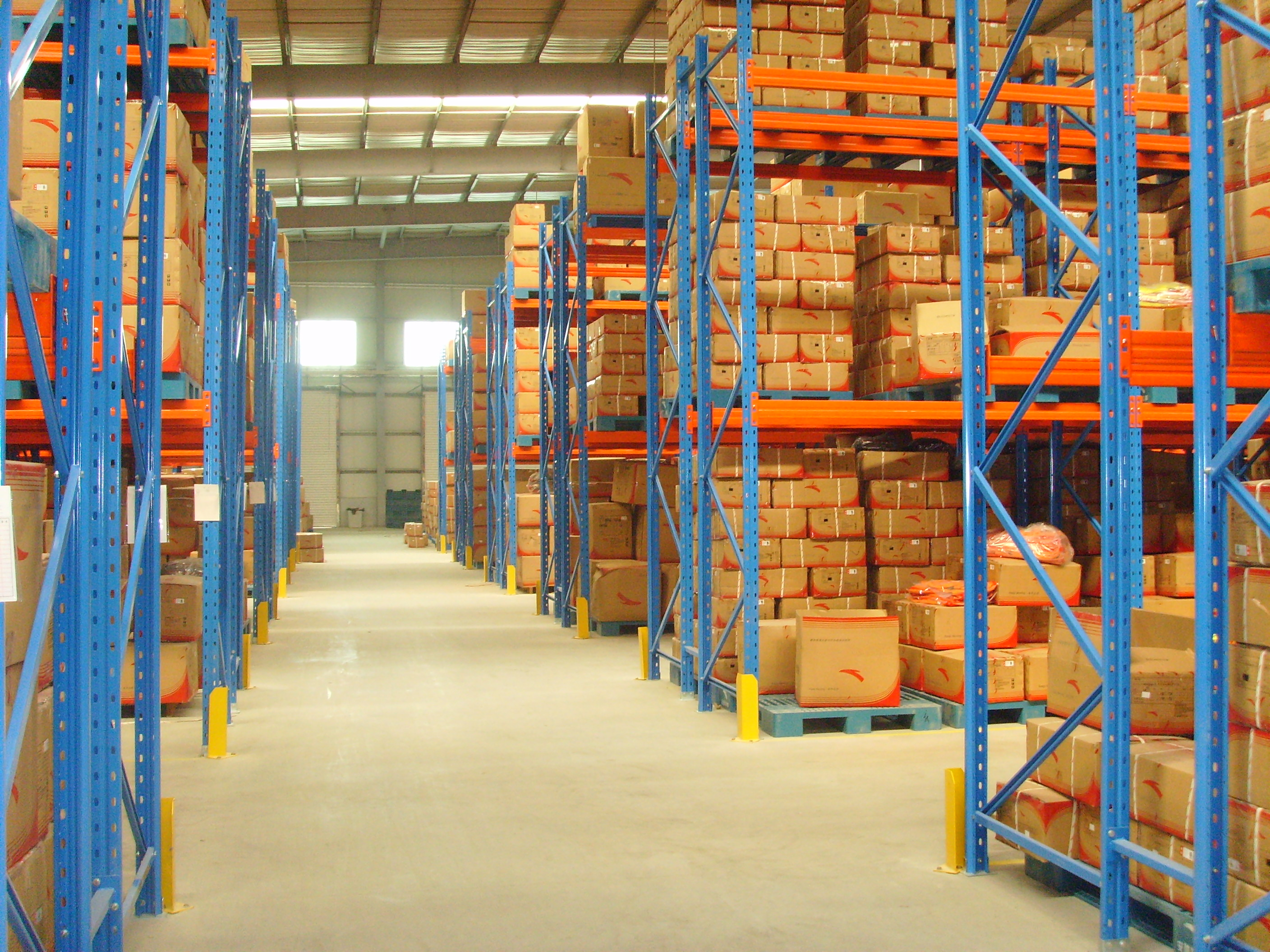 How to improve the utilization of warehouse space for pallet racking?